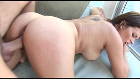 Hot MILF gets help for her car trouble then fucks stud to thank him