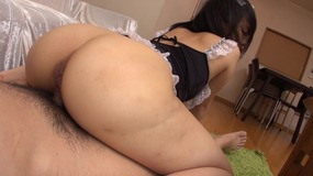 Japanese maids tight cunt gets screwed hardcore in pov