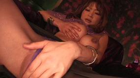 Fortune teller orgasms after a passionate masturbation