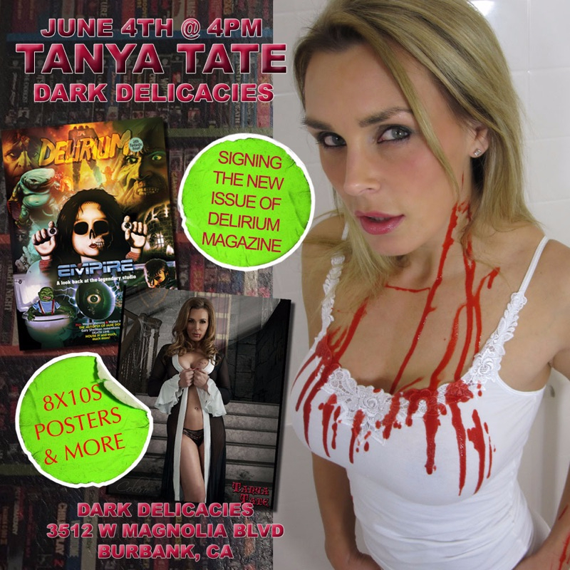 80668-Appearing At Dark Delicacies Burbank California 4th June-Tanya Tate