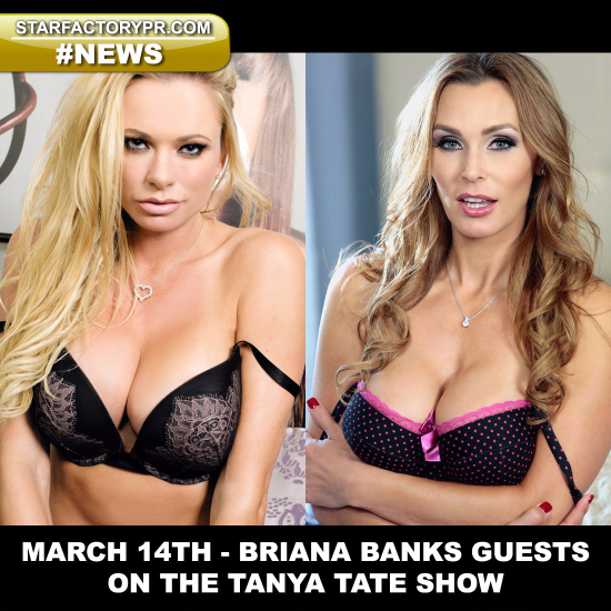 74876-Porn Icon BRIANA BANKS Guests On Vivid Radio's The TANYA TATE Show-Tanya Tate