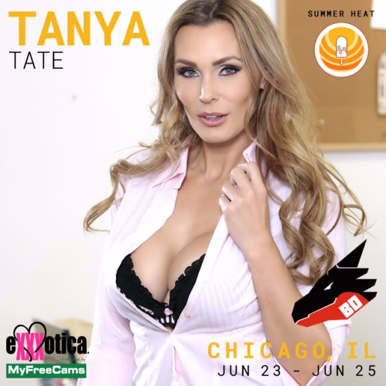 83118-#PR: EXXXOTICA Chicago Marks Final 2017 Signing Appearance For TANYA TATE!-Tanya Tate