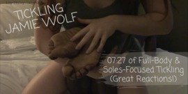 Tickling Jamie Wolf - clip cover-back