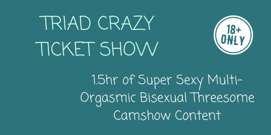 Triad Camshow - Crazy Ticket Show - clip cover-front