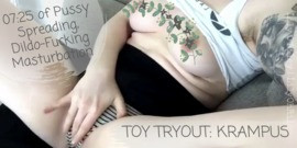 Toy Tryout: Krampus - clip cover-back
