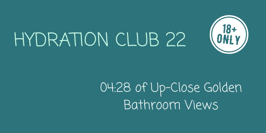 Hydration Club 22 - clip cover-front