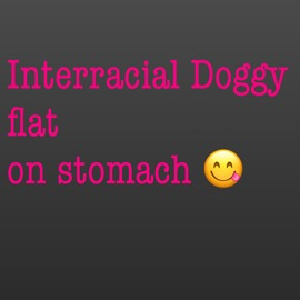 Interracial doggystyle pt 2 - clip cover-back